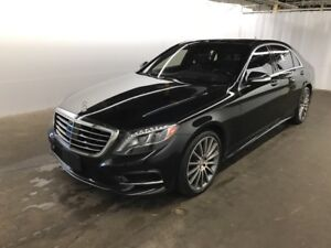 2015 MERCEDES-BENZ S 550 4MATIC (LWB) AMG Sport-Package