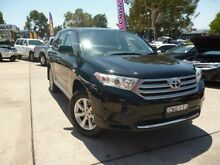 2012 Toyota Kluger GSU40R MY11 Upgrade KX-R (FWD) 7 Seat Black 5 Speed Automatic Wagon Belconnen Belconnen Area Preview