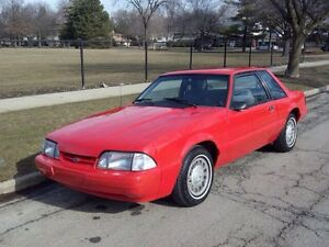 87-93 Ford Mustang LX 2.3 4cyl
