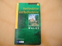 Hertfordshire/Bedfordshire walking/hiking book