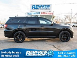 2016 Dodge Durango AWD Limited, Rear BluRay, BlackTop, Navigatio