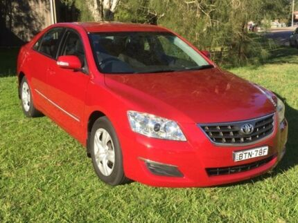 2008 Toyota Aurion GSV40R AT-X Burgundy 6 Speed Sequential Auto Sedan