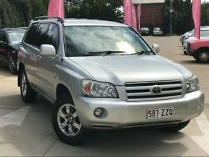 2006 Toyota Kluger MCU28R MY06 CV AWD Silver 5 Speed Automatic Wagon South Toowoomba Toowoomba City Preview