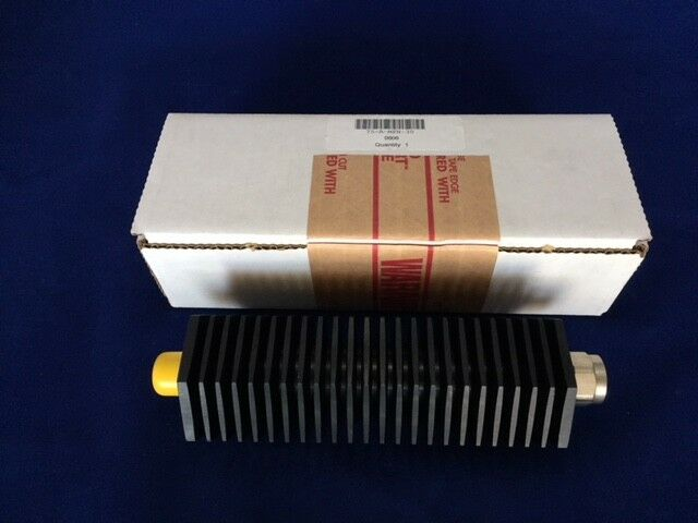 Bird Tenuline RF Attenuator 75-A-MFN-30 75 Watts 30dB N M//F New DC- 2.4 GHz