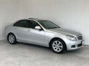 2007 Mercedes-Benz C-Class W203 MY2007 C200 Kompressor Classic Silver 5 Speed Sports Automatic Sedan Mount Gambier Grant Area Preview