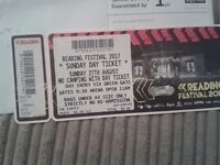 reading festival day ticket