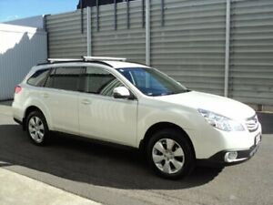 2011 Subaru Outback MY12 2.5I White 6 Speed Manual Wagon Edwardstown Marion Area Preview