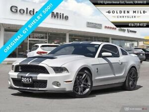 2011 Ford Mustang Shelby GT500 NO ACCIDENTS