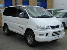 2005 Mitsubishi Delica Series 3 Chamonix White 4 Speed Automatic Wagon Caringbah Sutherland Area Preview