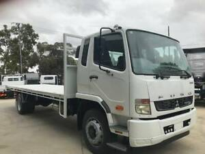 2013 FUSO FM Fighter 1627 ELWB Tray Top, 43,378 kms Pooraka Salisbury Area Preview