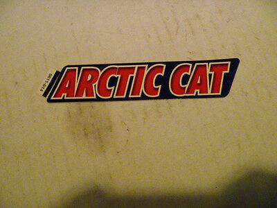 NEW OEM ARCTIC CAT SNOWMOBILE DECAL PART # 6611-614