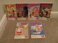 6 x Flat Stanley Childrens Books by Jeff Brown