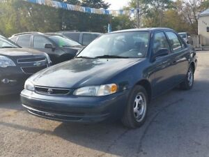 1998 Toyota Corolla VE,,certified..