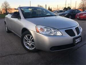 2007 Pontiac G6 GT 2dr Convertible , Certified, Accident Free