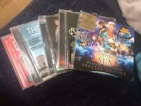 Selection of 5 '00's CDs, great condition (inc. The Script, Timbaland and Estelle)