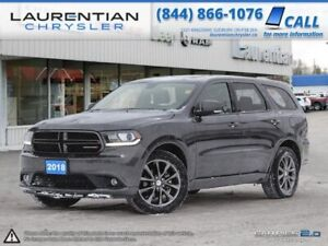 2018 Dodge Durango GT - SUNROOF AND STYLE IN AWD !!!!!