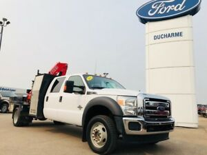 2013 Ford Super Duty F-550 DRW Fassi F80 Picker, WARRANTY, Ready