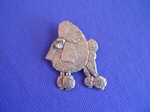 Pewter-Poodle-Standing-Pin-24B-Toy-Show-Dog-Jewelry-by-Cindy-A-Conter-CAC