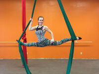 Be fit! Pole Dance and Aerial Silks, Zumba, Yoga and much more!