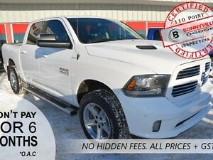 2014 Ram 1500 SPORT, UNDER 40,000 KMS, LEATHER