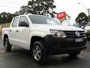 2012 Volkswagen Amarok 2H MY12 TDI400 (4x2) White 6 Speed Manual Dual Cab Utility Condell Park Bankstown Area Preview
