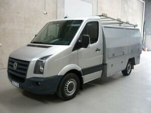 2007 Volkswagen Crafter 2EF1 35 MWB Silver 6 Speed Manual Cab Chassis Grovedale Geelong City Preview