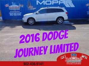 2016 Dodge Journey Limited,  Rear DVD, 7 Passenger with Sunroof
