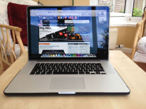 16Gb Macbooc Retina Pro Nvidia GT 750 Editing Software Included