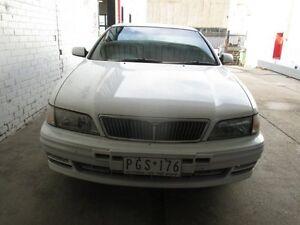 1997 Nissan Maxima A32 S2 30G White 4 Speed Automatic Sedan Tottenham Maribyrnong Area Preview