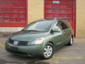 2004 Nissan Quest ONLY 50,000kms