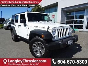 2014 Jeep Wrangler Unlimited Rubicon *ACCIDENT FREE * LOCAL B...