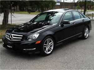 2012 MERCEDES BENZ C250 4MATIC - 1 OWNER|BLUETOOTH|NO ACCIDENT