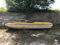 15' Shakespeare speedboat hull.
