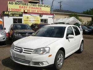 2009 VOLKSWAGEN GOLF CITY AUTO 93K-100% APPROVED FINANCING!