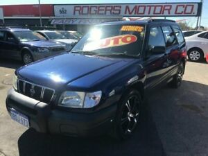 2002 Subaru Forester MY02 Blue 4 Speed Automatic Wagon Victoria Park Victoria Park Area Preview