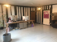 Deskspace in central St Albans Design Studio
