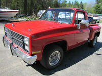 1985 Chevy Short Box Step Side 9500.00 or trade