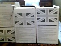 3 x Boxes of white tiles