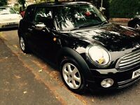 Mini One 2010 Black with lots of chrome extras. Low miles. Pepper pack. Very good condition. £5250.