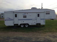 Prowler fifth wheel camper 285s    $6500 firm
