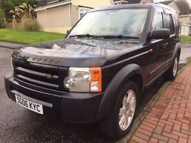 2006 Land Rover Discovery 2.7 Diesel. Full Years MOT. Timing Belt Done. 7 Seater. Great Condition