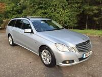 2011 11 MERCEDES-BENZ E CLASS 2.1 E220 CDI BLUEEFFICIENCY SE 5D 170 BHP DIESEL