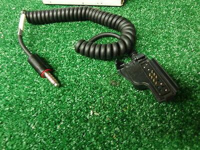Motorola Msa Hazmat Headset Radio Adapter For Ht1000 Xts5000 Mt2000 Jedi Series