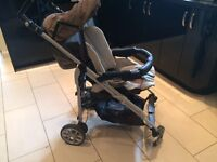 Britax travel system - push chair with car seat