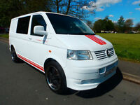 2007 07'reg VW T5 Transporter 2.5 TDi 130bhp**Brand New Full Side Conversion**