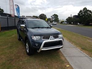 2010 Mitsubishi Triton MN MY11 GLX-R Grey 5 Speed Automatic 4D UTILITY Ingleburn Campbelltown Area Preview