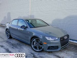 2018 Audi A4 Sedan 2.0T Technik S-Line Black Pack w/Adaptive Spo