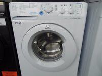 NEW GRADAED WHITE 6 KG 1200 SPIN INDEST WASHING MACHINE REF: 13213