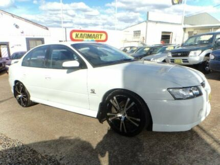 2005 Holden Commodore VZ SV6 White 5 Speed Auto Active Select Sedan North St Marys Penrith Area Preview