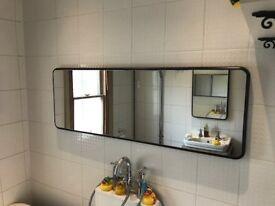 2 x Art Deco Mirrors